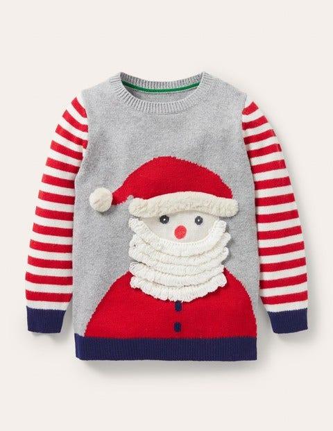 Festive Graphic Crew Sweater