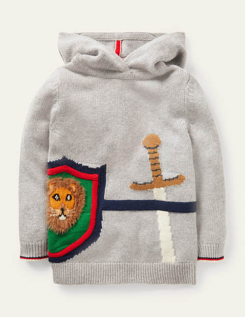 Knitted Knight Hoodie