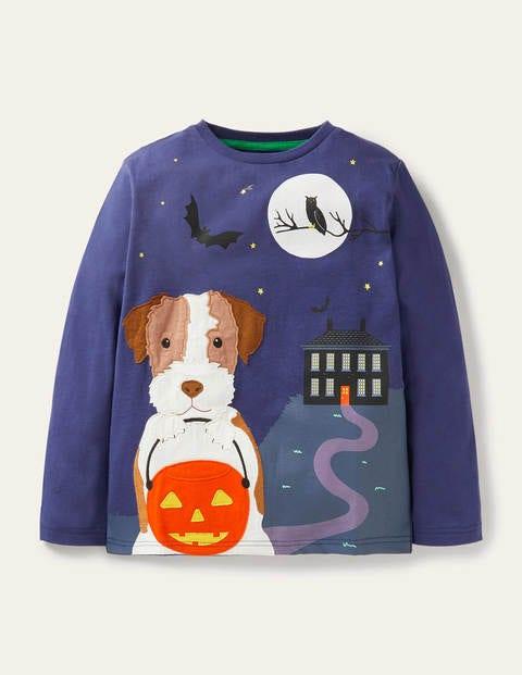 Halloween Appliqué T-shirt