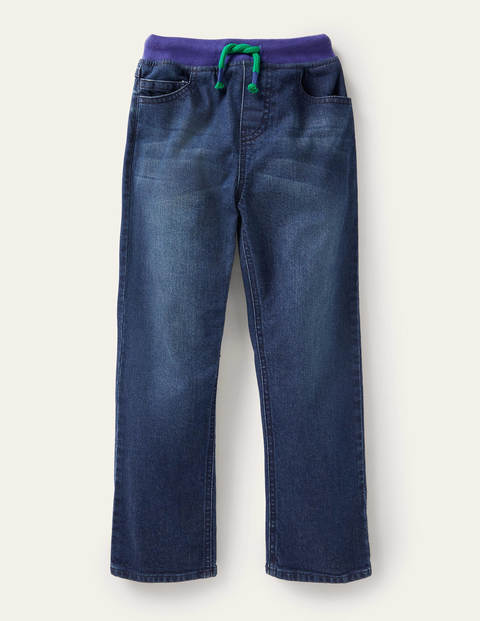 Pull-on Denim Trousers - Mid Vintage