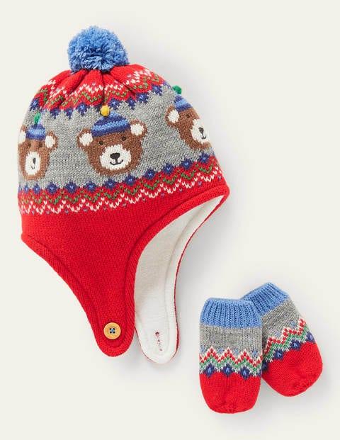 Bear Knitted Set
