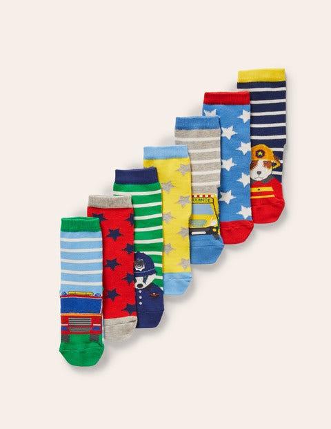 Box mit Socken im 7er-Pack - Bunt, Einsatzpersonal