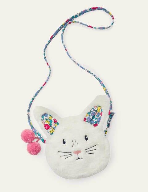 보덴 걸즈 가방 Boden Novelty Bag - Ivory Bunny