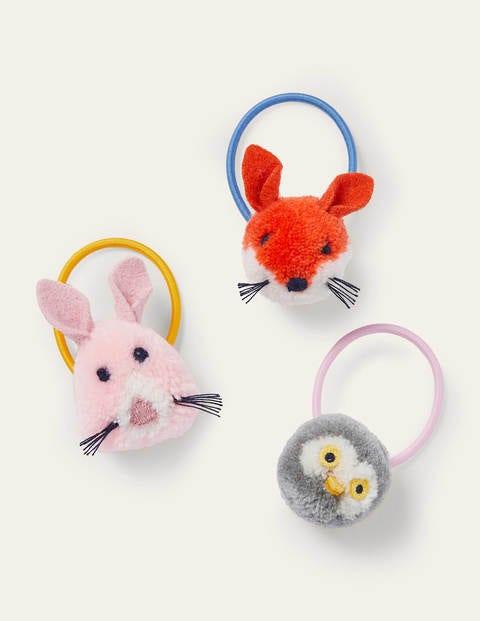 Pom Pom Hairbands 3 Pack