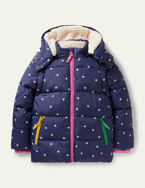 Cosy 2 in 1 Padded Jacket - College