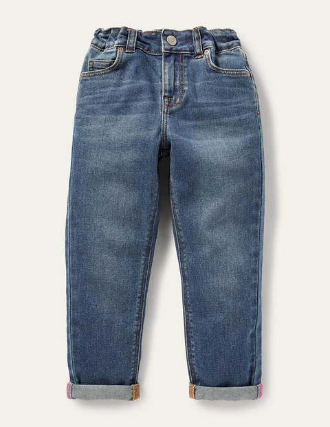 Girlfriend Jeans - Mid Vintage Denim