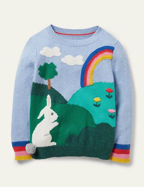 Bunny Scene Sweater