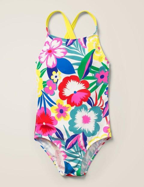 Cross-back Swimsuit