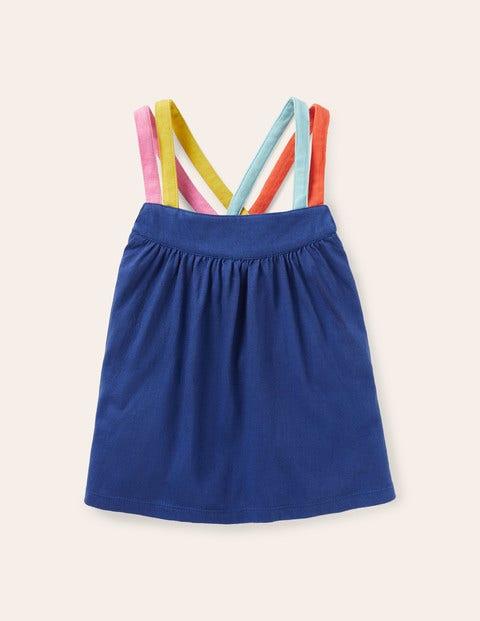 Rainbow Strap Vest - Starboard Blue
