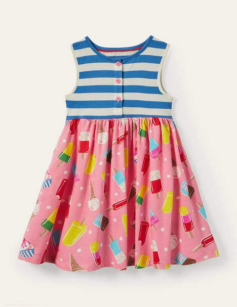 Hotchpotch Tiered Jersey Dress