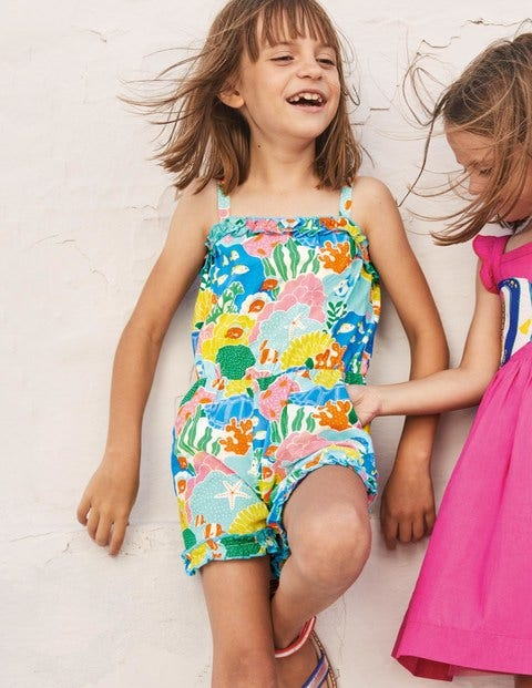 Fun Printed Romper