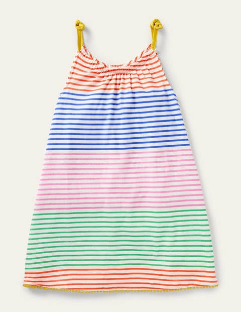 Jersey Sun Dress - Multi Stripe