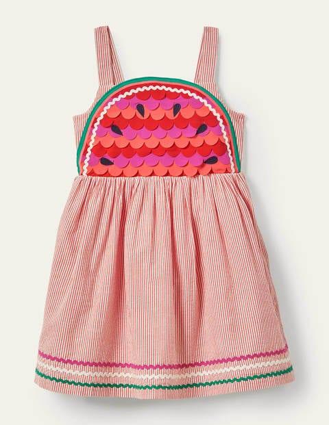 Watermelon Embellished Dress