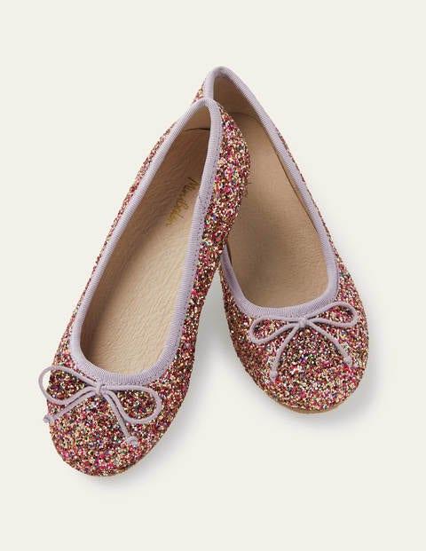 Ballet Flats - Multi Glitter