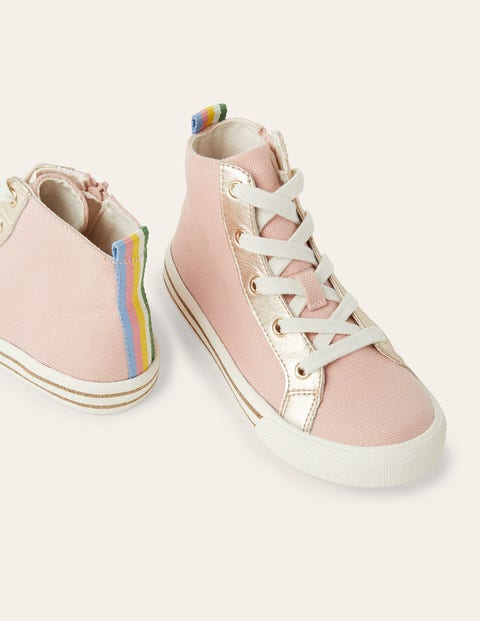 High Tops - Boto Pink Canvas