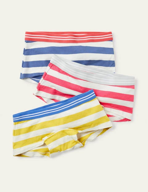 Shorties 3 Pack - Ivory/Multi