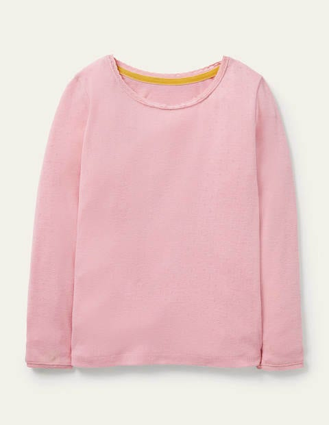 Supersoft Pointelle T-shirt - Formica Pink