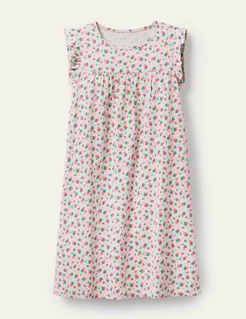 Printed Short-Sleeved Nightie