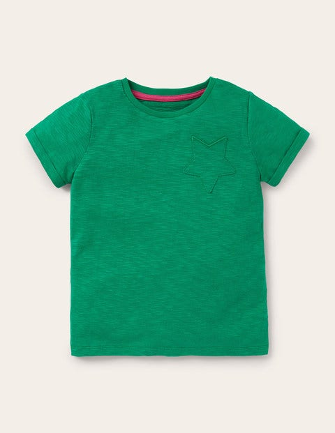 Star Pocket Slub T-shirt