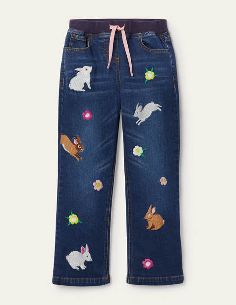 Fun Bunny Jeans - Mid Vintage Animals