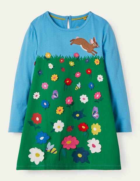 Big Appliqué Dress