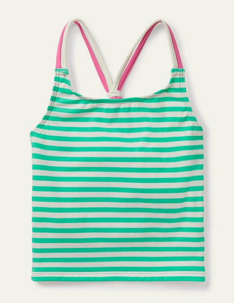 Patterned Tankini Top