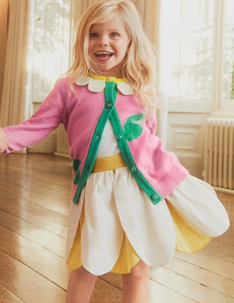Petal Skirt - Sweetcorn Yellow