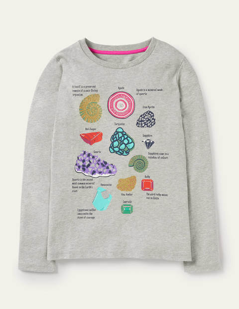 Fossil Facts Glitter T-shirt