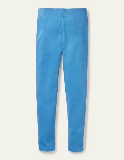 Plain Leggings - Elizabethan Blue