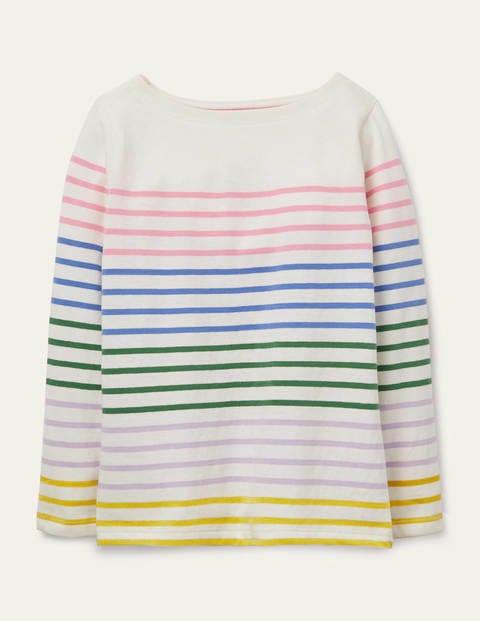 Everyday Breton - Multi Rainbow Stripe