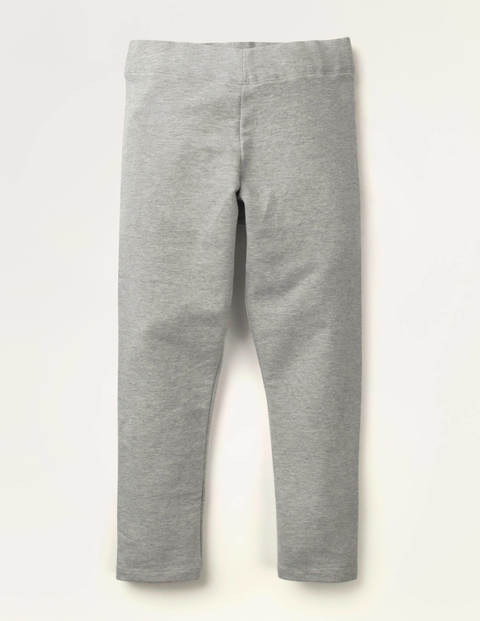 Plain Cosy Leggings - Grey Marl