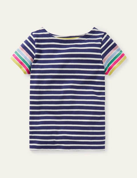 Short-sleeved Breton