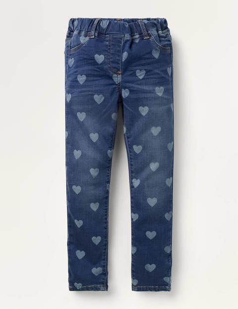 Adventure-flex Denim Leggings - Mid Vintage Heart