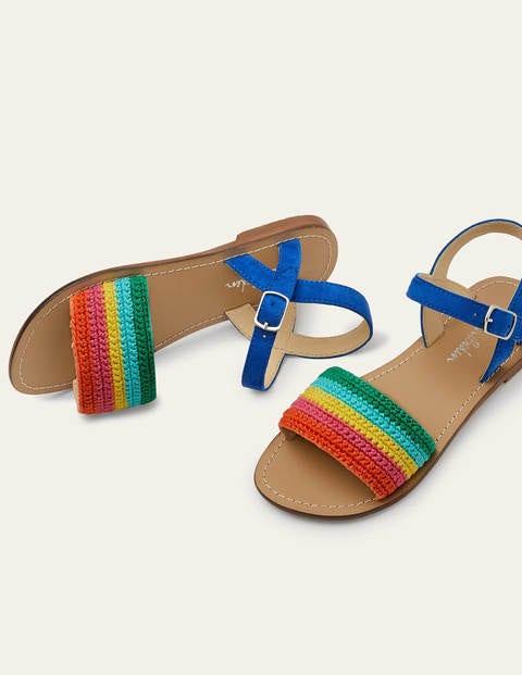 Sandales en crochet