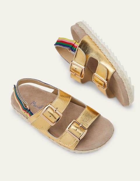 Sandales style espadrilles