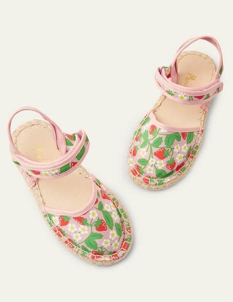 Espadrilles - Fraise rose boto