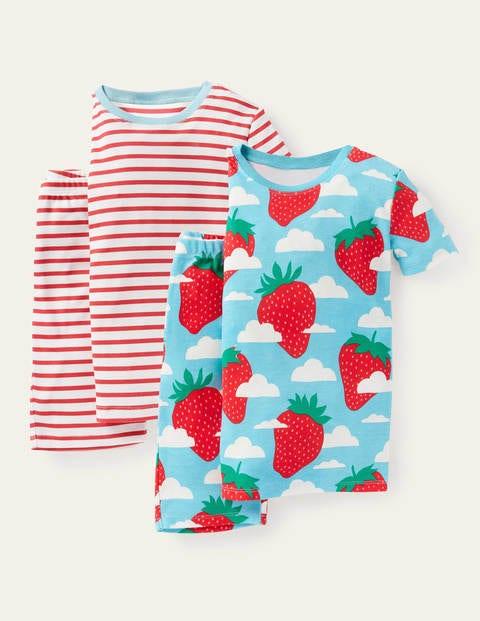 Twin Pack Short John Pajamas