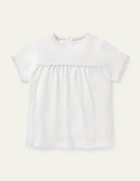 Daisy Trim Jersey Top