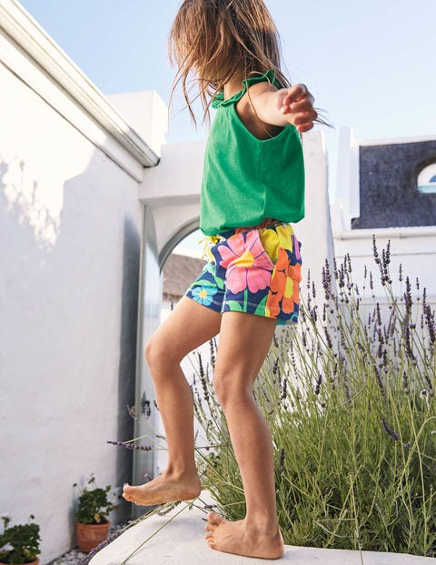 Towelling Shorts - Multi Fabulous Floral