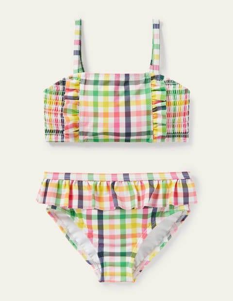 Nostalgic Smocked Bikini