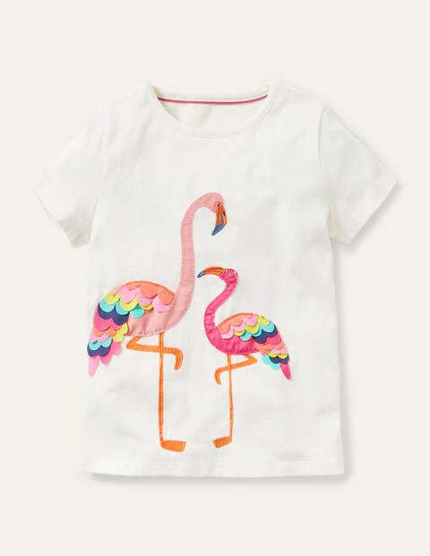Charming Appliqué T-shirt