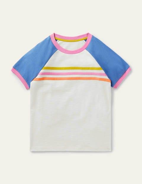 Raglan Slub T-shirt - Ivory