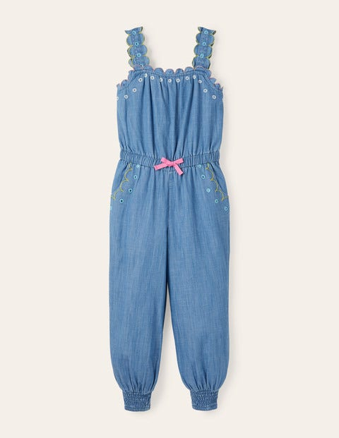 Scalloped Dungaree