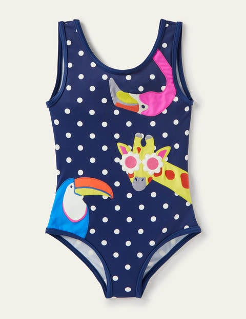 Fun Appliqué Swimsuit