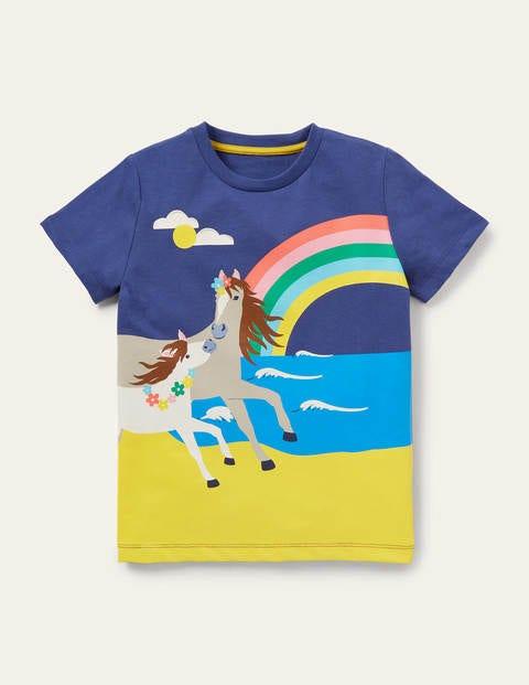 T-Shirt mit Szenenmotiv