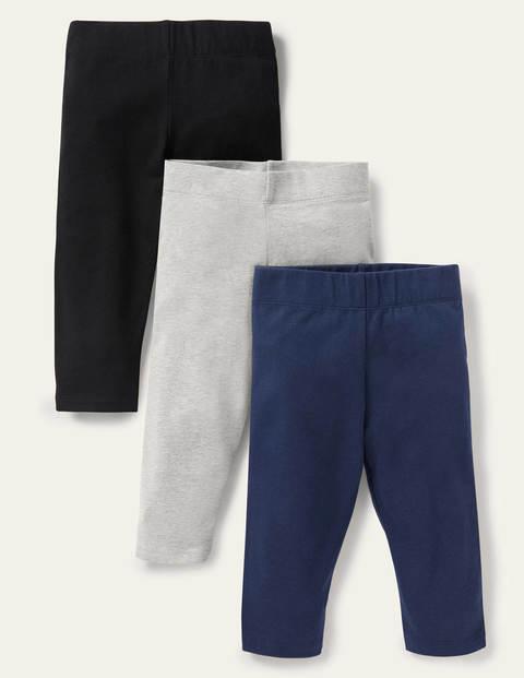 7/8-Leggings im 3er-Pack - Basics
