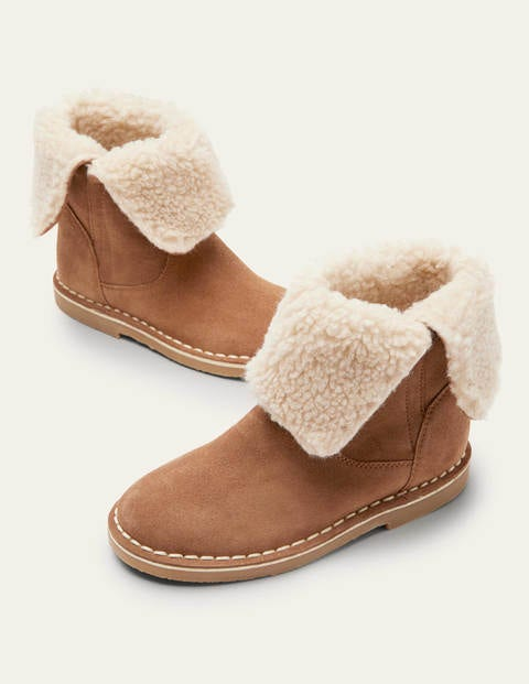 Cosy Suede Boots