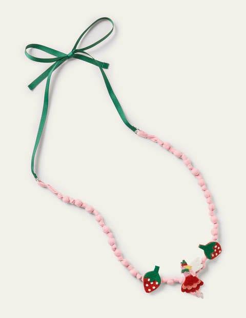 Fabric Necklace - Multi Fairy