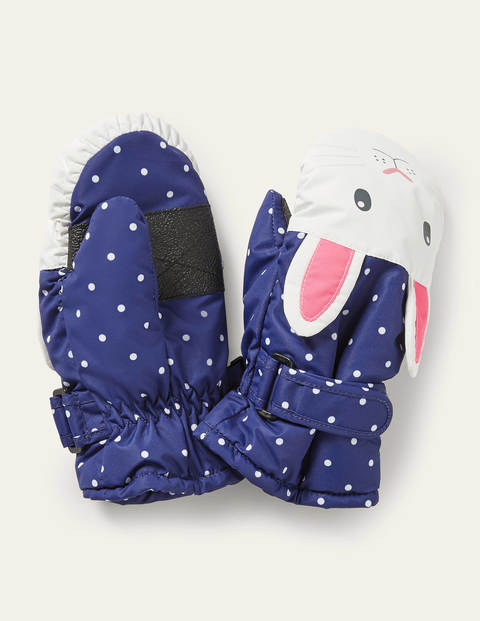 Bunny All Weather Mittens - Starboard/Ivory Spot Bunny