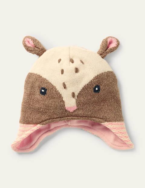 Novelty Deer Hat - Mouse Brown